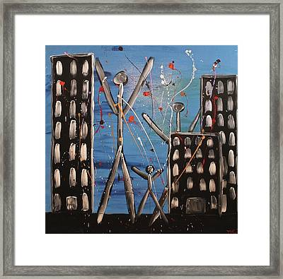 Lost Cities 13-003 Framed Print