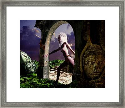 Lost City 2 Framed Print by Joe Costello