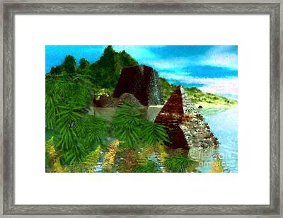 Lost City Framed Print by David Lane