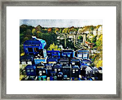 Lost City Of Time Framed Print