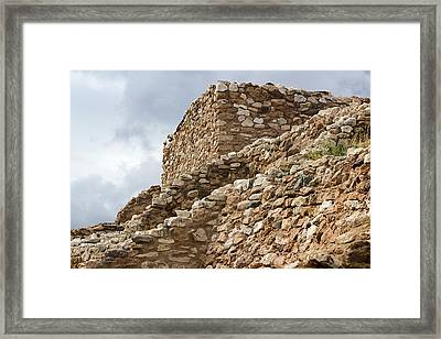 Framed Print featuring the photograph Lost Civilization by Phyllis Denton