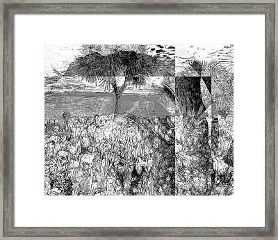 Lost Colors Framed Print