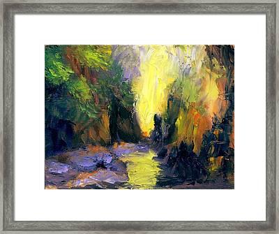 Lost Creek Framed Print