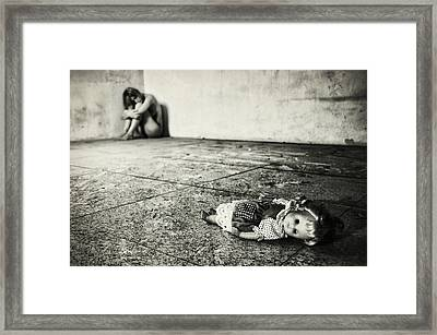 Lost Doll Framed Print by Stefano Miserini