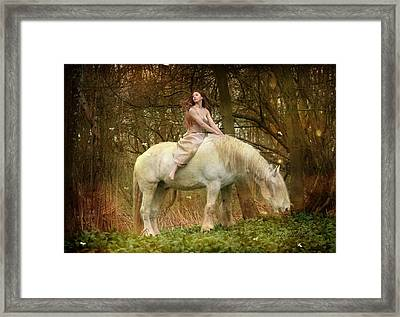 Lost Elves 1 Framed Print by Dorota Kudyba