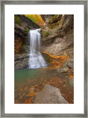 Lost Falls Framed Print by Ryan Heffron