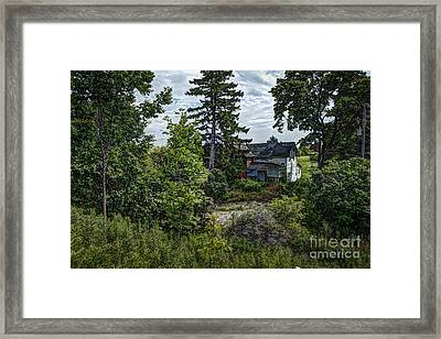 Lost Farm Framed Print