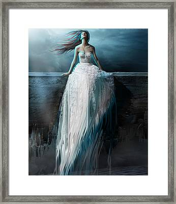 Lost Forever Framed Print by Amalia Iuliana Chitulescu