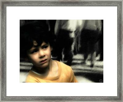 Lost Framed Print by Gun Legler