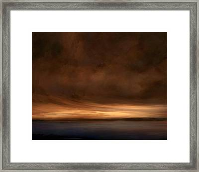 Lost Horizon Framed Print by Lonnie Christopher