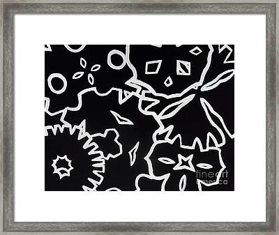 Lost In A Blizzard Framed Print by Jilian Cramb - AMothersFineArt