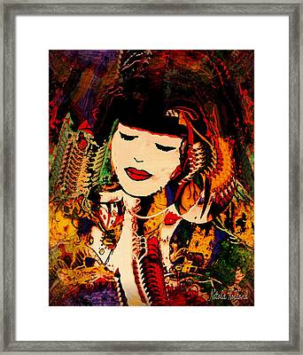 Lost In A Dream Framed Print by Natalie Holland
