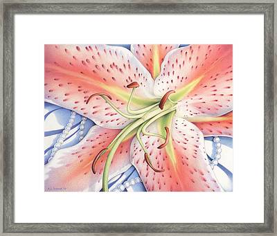 Lost In A Moment Framed Print by Amy S Turner