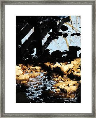 Lost In Beverly Hills Framed Print by Todd Sherlock