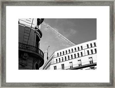 Lost In Brussels Framed Print by Mark Chevalier