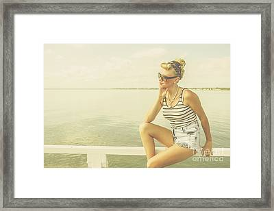 Lost In Dreams Of Yesterday Framed Print by Jorgo Photography - Wall Art Gallery