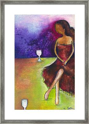 Lost In Grapes Framed Print by Ricky Sencion