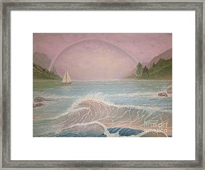 Lost In Heaven Framed Print