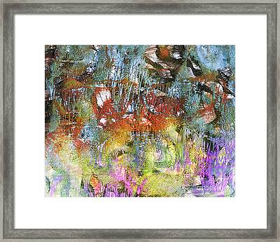 Lost In Nature Framed Print by Laura L Leatherwood