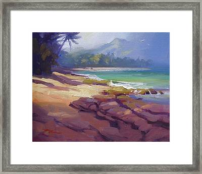 Lost In Paradise II Framed Print by Richard Robinson