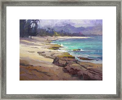 Lost In Paradise Framed Print by Richard Robinson