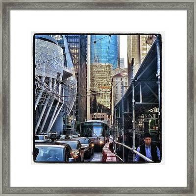 Framed Print featuring the photograph Lost In Reflection. Wandering The by Mr Photojimsf