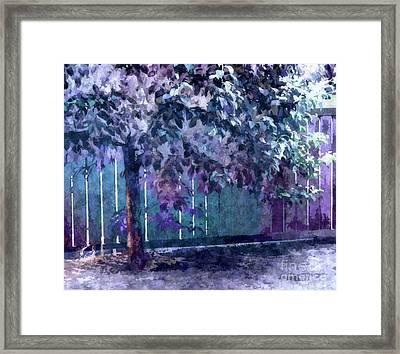 Lost In Reverie Framed Print by Tlynn Brentnall