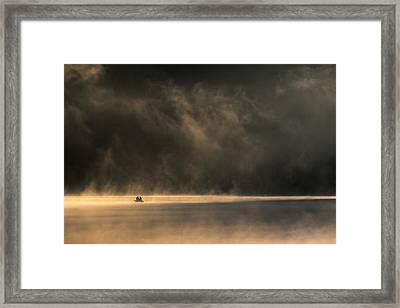 Lost In Space Framed Print by Izabela Laszewska-mitrega