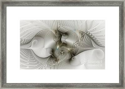 Lost In Space Framed Print by Karin Kuhlmann