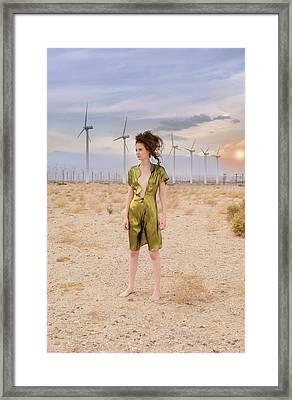Lost In The Desert Framed Print by Amyn Nasser