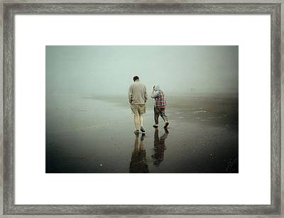 Lost In The Fog Framed Print by Sergey  Nassyrov