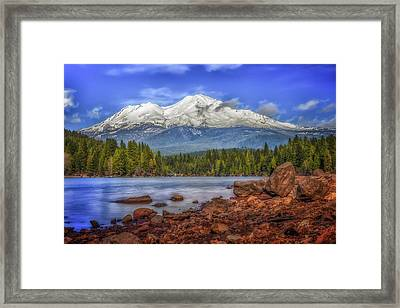 Lost In The Moment Framed Print