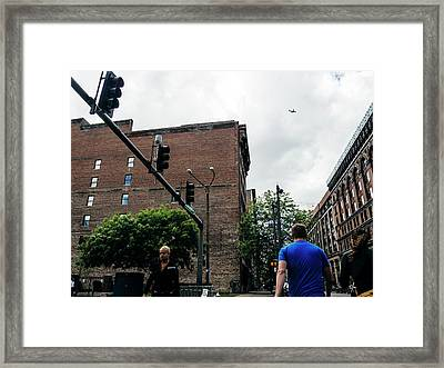 Lost In The Shuffle. St. Louis Street Photography Framed Print by Dylan Murphy