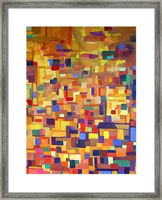Lost In The Souk Framed Print