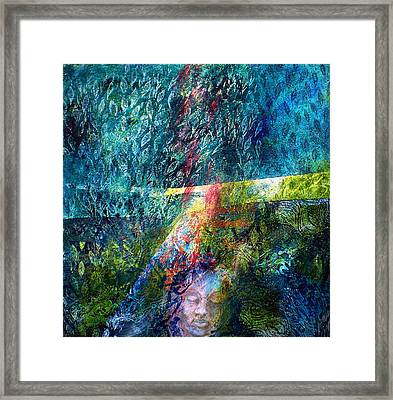 Lost In The Woods Framed Print by Sue Reed