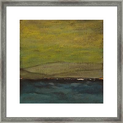 Lost In Thought 1 Framed Print by Jacqueline Steudler