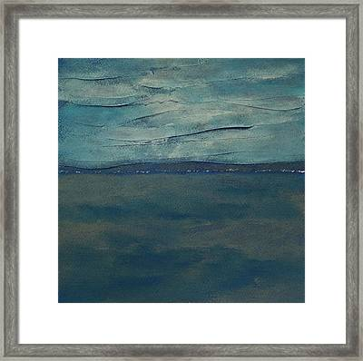 Lost In Thought 2 Framed Print by Jacqueline Steudler