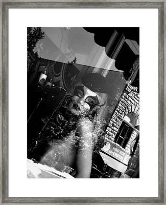 Lost In Thought Framed Print by Elizabeth Hoskinson
