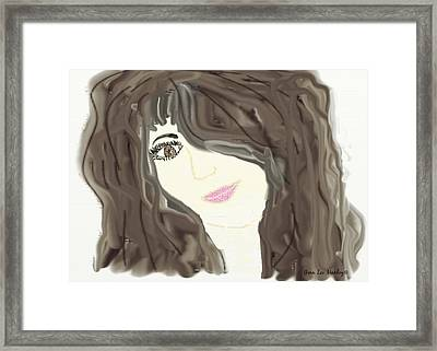 Lost In Thought Framed Print by Gina Lee Manley