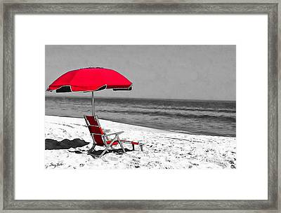 Lost In Thought Framed Print by Stacey Brooks