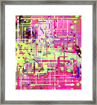 Lost In Thoughts. Framed Print by Janpen Sherwood