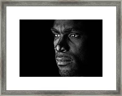 Lost In Thoughts Framed Print by Val Black Russian Tourchin