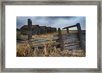 Lost In Time 8 Framed Print by Bob Christopher