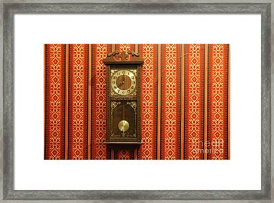 Framed Print featuring the photograph Lost In Time And Space by Stephen Mitchell