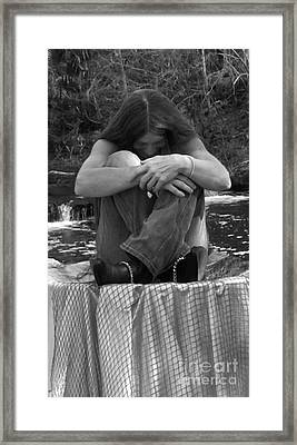 Lost In Time Framed Print by Debbie May