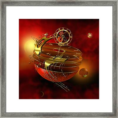 Lost In Time Framed Print by Franziskus Pfleghart