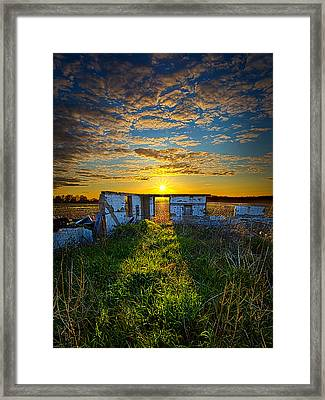 Lost In Time Framed Print by Phil Koch