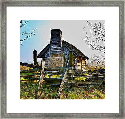 Lost In Time Framed Print by Robert Pearson