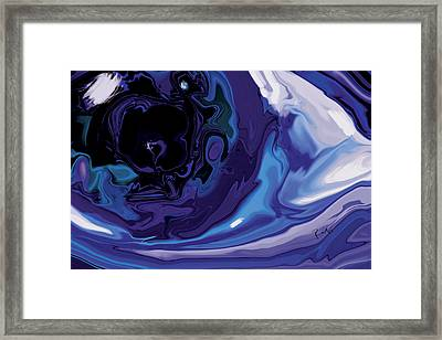 Lost-in-to-the-eye Framed Print by Rabi Khan