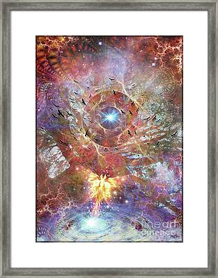 Lost In Transformations Framed Print